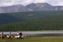 Day 3 - Khar Uus -  - Kayaking and horse-riding in Khuvsgul
